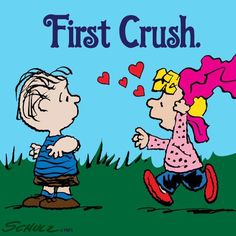 Dally Brown has her 'First Crush' on Linus Van Pelt, Charlie Brown and the peanuts gang. Peanuts Cartoon, Cartoon Tv, Peanuts Snoopy, Cartoon Characters, Peanuts Characters, Snoopy Love, Snoopy And Woodstock, Linus Van Pelt, Sally Brown