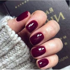 Color burgundy Beautiful autumn nail art design to try this autumn - burgundy on long coffin na. Beautiful autumn nail art design to try this autumn - burgundy on long coffin nails autumn nails teal nail colors fall nails nail polisacrylic nail art Winter Nail Designs, Short Nail Designs, Nails Design Autumn, Autumn Nails, Winter Nails, Hair And Nails, My Nails, Mauve Nails, Maroon Nails