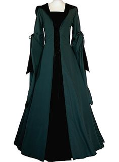 Medieval dress from Dornbluth. I love the outer layer, Maybe make it separate...