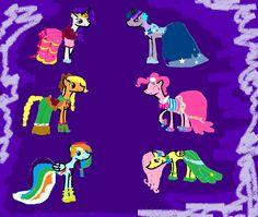 die pony freunde sind auf der gala