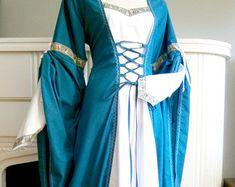 Azul vestido de Medieval Renacimiento vestido por CadwaladrCostumes