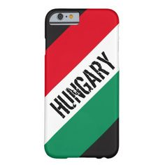 Flag of Hungary Barely There iPhone 6 Case Hungary Flag, Political Events, National Flag, Business Supplies, Iphone Case Covers, Invitation Cards, Kids Outfits, Create Yourself, 6 Case