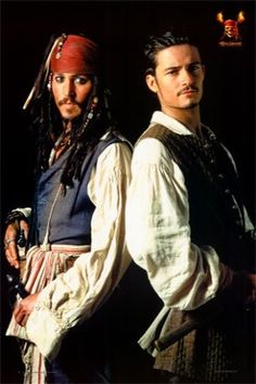 johnny depp and orlando bloom - Google Search
