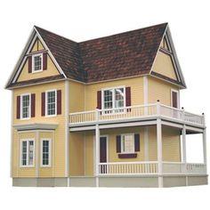 I NEED THIS!!!!!! Real Good Toys Victoria's Farmhouse Dollhouse Kit   Shop Hobby Lobby