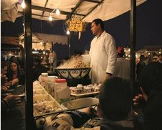 The top 10 street food-food stalls-Marrakech, Morocco