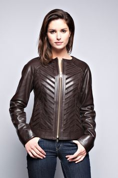 Unique Womens Leather Jackets sl0TQI