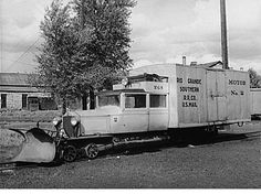 Galloping Goose No2, built on a Buick for the Rio Grande and Southern Railroad
