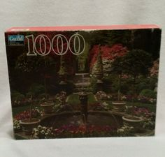 Fountain & Garden in Bloom 1000 Pc Puzzle (Hasbro/Guild, 2001) - New/Sealed | Toys & Hobbies, Puzzles, Contemporary Puzzles | eBay!