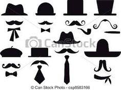 Znalezione obrazy dla zapytania wąsy szablon