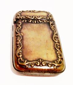Antique Vintage Victorian or Edwardian Ornate Brass by BuckysFinds, $57.00