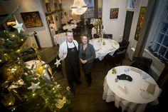Freddy en Michelle, kerstmis 2013, artikel Brabants Centrum, foto Peter de Koning.
