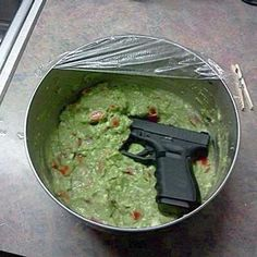 Funny pictures about Glockamole. Oh, and cool pics about Glockamole. Also, Glockamole.