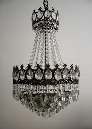 Vintage French bucket type Chandelier