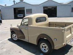 Morris Minor Pick-Up photos, picture # size: Morris Minor Pick-Up photos - one of the models of cars manufactured by Morris Hot Rod Trucks, Cool Trucks, Pickup Trucks, Cool Cars, Classic Trucks, Classic Cars, Morris Traveller, Panel Truck, Morris Minor