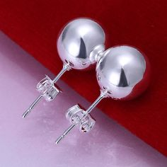 Cheap earrings children, Buy Quality earring supplies directly from China earring box Suppliers: High Quality Fashion Jewelry Silver Plated Pokemon Stud Earrings Silver Female Lucky Ball Perlas Earing for women gift Fashion Earrings, Women's Earrings, Fashion Jewelry, Women Jewelry, Earring Box, Wholesale Silver Jewelry, Sterling Silver Earrings Studs, 925 Silver, Silver Rings