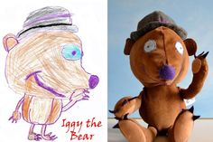 send photo of your child's drawing to this company and they send back a toy of it.  so cool!