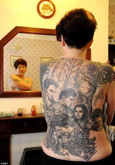twilight tattoo   twilight tattoo