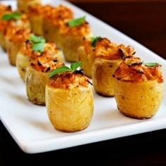 Artichoke Baked Potato Bites