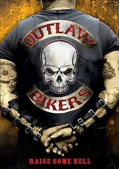 Outlaw Bikers: Raise Some Hell Factory sealed DVD Biker Clubs, Motorcycle Clubs, Outlaws Mc, Outlaws Motorcycle Club, Classic Harley Davidson, Grim Reaper Tattoo, Biker Quotes, Biker Gear, Hells Angels