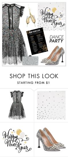 """""""Dance Party Dress"""" by amchavesj-1 ❤ liked on Polyvore featuring Elie Saab, My Little Day, Miu Miu, Edie Parker and danceparty"""