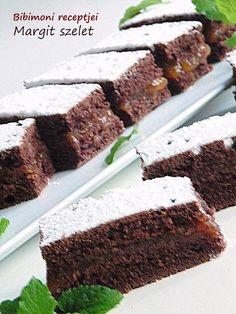 Margit szelet Vaj, Cukor, Desserts, Food, Tailgate Desserts, Deserts, Eten, Postres, Dessert