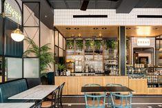 View full picture gallery of BIGA Cafe Healthy Restaurant Design, Restaurant Bar, Bakery Design, Cafe Design, Healdsburg Hotel, Cafe Interior, Interior Design, Interior Paint, Food Court Design