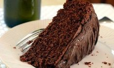 Chocolate olive oil cake from Baking Bites by Nicole Weston Fish Recipes, Cake Recipes, Dessert Recipes, Chocolate Delight, Chocolate Flavors, Food Cakes, Köstliche Desserts, Delicious Desserts, Chocolate Olive Oil Cake