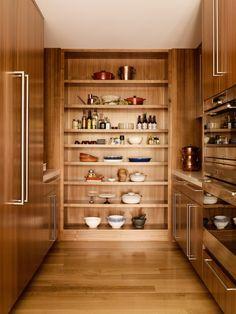 kitchen -built in shelving Sagan Piechota Architecture Remodeled San Francisco House | Remodelista