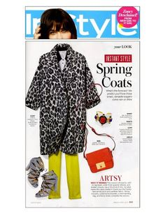 tracy reese leopard coat -MUST HAVE THIS!!!!