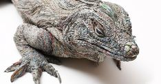 Japanese Artist Tightly Rolls Newspaper To Create Incredibly Realistic Animal Sculptures (11 Pics) | Bored Panda