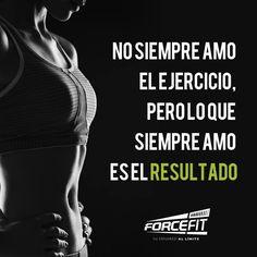 #Crossfit #Frases #Forcefit #Resultados #WOD #Motivacion No siempre amo el ejercicio,..