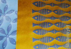 Müllerin Art: Siebdruck Muster-Mittwoch (10)