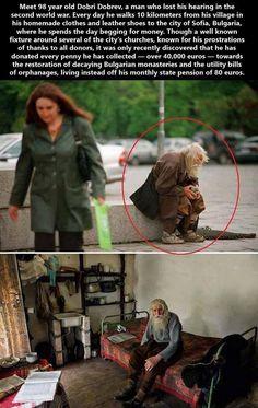 They call him Grandpa Dobri