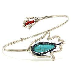 Tulip Jewel Upper Arm Cuff Bracelet / AZMIAB002-SMU Arras Creations http://www.amazon.com/dp/B00UTJ5U8Y/ref=cm_sw_r_pi_dp_6bUdvb1HRABSF
