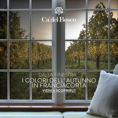Ci piace pensare che in Franciacorta tu ti senta un po' a casa tua... #enjoycadelbosco #paesaggio #autunno #casa