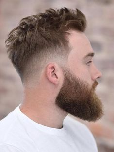 low fade archives men s hairstyle tips 36 modern low fade haircuts styling guide 75 stylish low fade haircuts in 2019 for men 11 bewildering low fade haircuts for men with long hair 35 of the top men s fades haircuts hairstyle on point… Fade Haircut With Beard, Mid Fade Haircut, Undercut With Beard, Mens Hairstyles With Beard, Beard Haircut, Beard Fade, Quiff Hairstyles, Tapered Haircut, Cool Hairstyles For Men