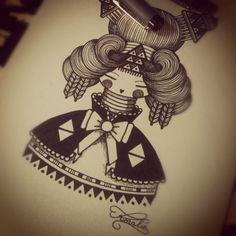 Illustration by Koralie from France