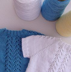 JERSEY DE BEBE GUILLE   Puntomoderno.com Lana, Knit Crochet, Knitting, Tops, Women, Fashion, Knitting And Crocheting, Nightgowns, Knitted Baby
