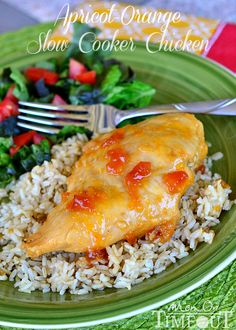 apricot-orange slow-cooker chicken recipe