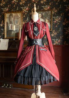 Real Costumes, Lolita Dress, Your Heart, Hemline, Corset, Shop Now, Chiffon, Military, Sleeves