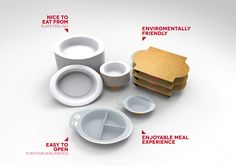Ready meal packaging for elderly people - Beatriz Durán Balda | Industrial Designer