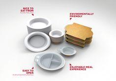 Ready meal packaging for elderly people - Beatriz Durán Balda | Industrial Designer