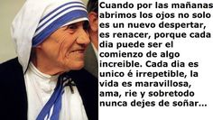 De La Madre Teresa De Calcuta Reflexiones | ... POR LAS MAÑANAS ABRIMOS LOS OJOS… ( MADRE TERESA DE CALCUTA