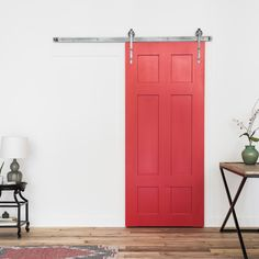 Our Classic 6 Panel Barn Door is timeless. Built to both look rustic and function as though made in the modern age, it is beautiful in any setting.