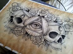 illuminati_and_skull_chest_piece_tattoo_design_by_kirstynoelledavies-d6f8ehv.jpg (3264×2448)