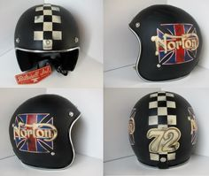 DISTRESSED LIDS - OLD SCHOOL HELMETS