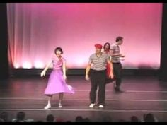50's dance routine featuring The Lindy Hop All-Stars  -   ...  Always wanted to be able to dance like that.