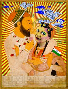 'Britindian love story' by Jon Reading