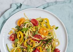 Zoodles with Summer Vegetables