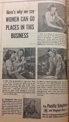...and those places were slightly larger switchboard rooms. Better to have been one of the early computer programmers. They were women, 1948****LOCAL PROGRAMMERS WANTED / NEEDED for Carroll Iowa Community!
